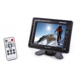 MICROPHONE PLL UHF TRUE DIVERSITY SANS FIL À 8 CANAUX AVEC AFFICHEUR LCD