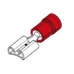 COSSE FEMELLE 2.8mm ROUGE
