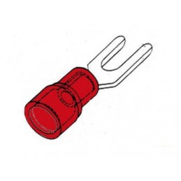 COSSE A FOURCHE 4.3mm - ROUGE