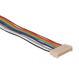CONNECTEUR AVEC CABLE POUR CI - FEMELLE - 10 CONTACTS / 20cm