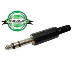JACK MALE 6.35mm STEREO...