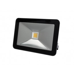 PROJECTEUR LED DESIGN - 30 W, BLANC CHAUD - NOIR